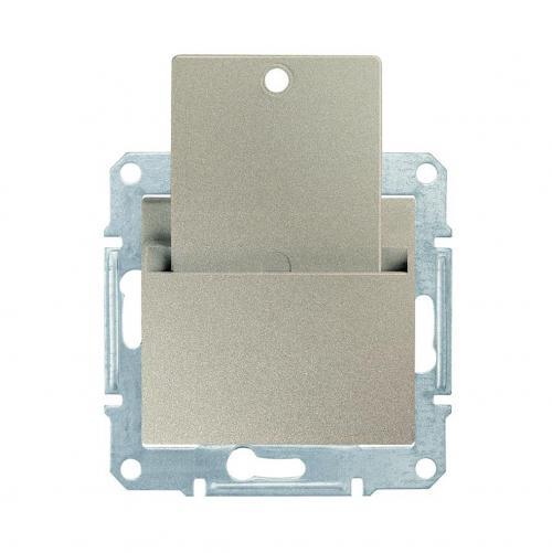 SCHNEIDER ELECTRIC - SDN1900168 Ключ карта Sedna, 10А , титаний