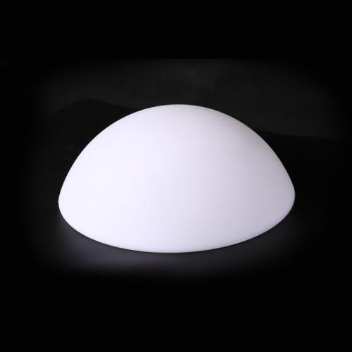 V-TAC - LED RGB градинска лампа ПОЛУКРЪГ D:50X26см SKU 40221 VT-7809
