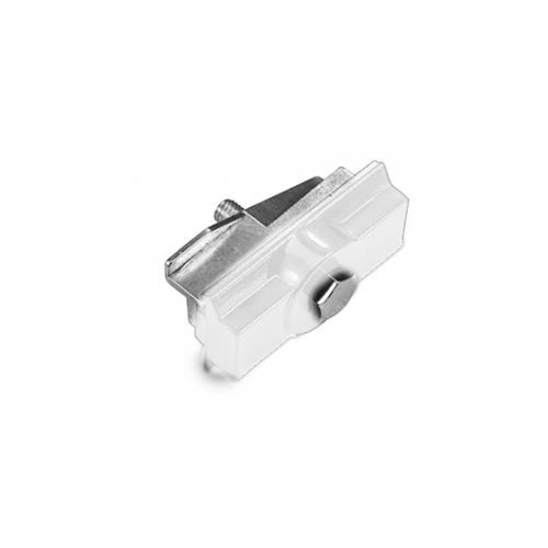 ACA LIGHTING - Адаптор за монтиране за трифазна шина за вграждане бял 4WADSW