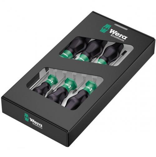 WERA - Комплект отвертки Kraftform Comfort 1335/1350/1355/6 (6 части)