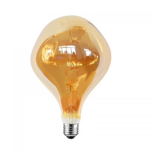 ACA LIGHTING - LED крушка димираща кехлибар INDIE FILAMENT E27 5W 2700K 330lm INDIE5SWWDIMAM