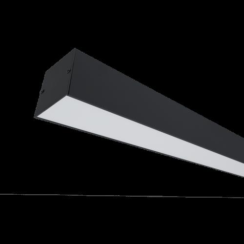 ELMARK - LED ПРОФИЛ ЗА ОТКРИТ МОНТАЖ S48 20W 4000K ЧЕРЕН 99SM604020/BL