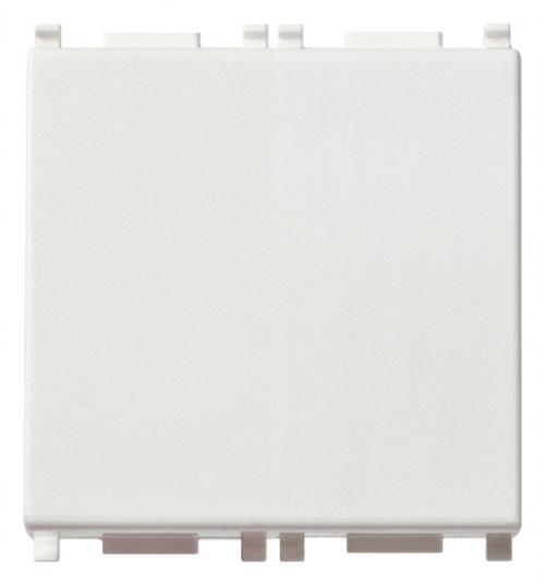 VIMAR - 14008.2 - Plana 1P 10A Бутон 2M бял