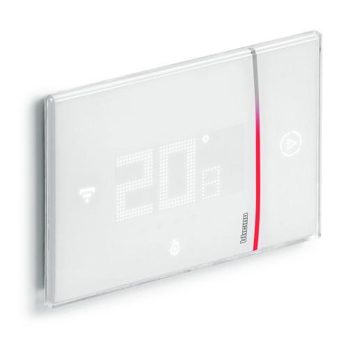 BTICINO - Термостат Smarther 2 с вградено Wi-FI за вграден монтаж бял Bticino with Netatmo XW8002