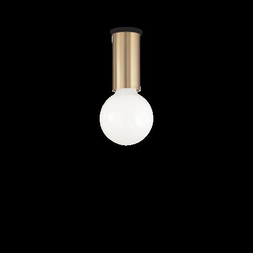 IDEAL LUX - Плафон  PETIT PL1 OTTONE SATINATO 233031 E27, 1X60W