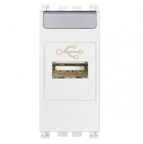 VIMAR - 19345.B - Arke USB outlet бял