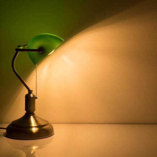 V-TAC - Настолна Лампа Банкер Е27 Зелена SKU 3912 VT-7151