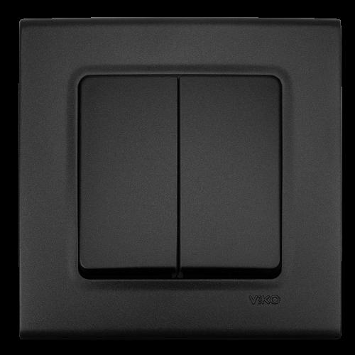 VIKO - Двоен девиатор LINNERA LIFE черно 90404017-BG