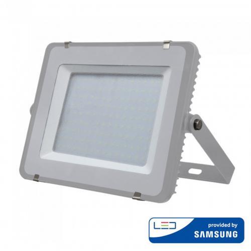 V-TAC PRO - 200W LED Прожектор SAMSUNG ЧИП SMD Сиво Тяло 4000К SKU: 484 VT-200-G, 6400K-485