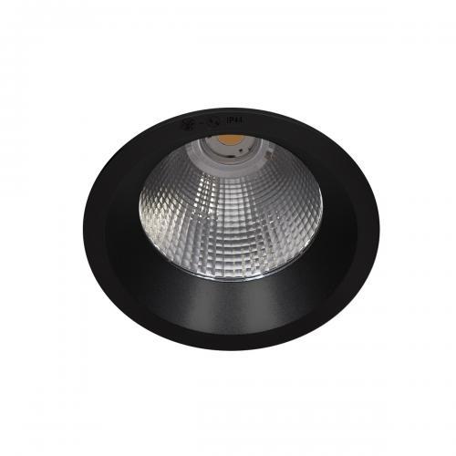 ITALUX - Влагозащитена LED луна за вграждане   Kerez IP54 DG-150C/BK-WW/70