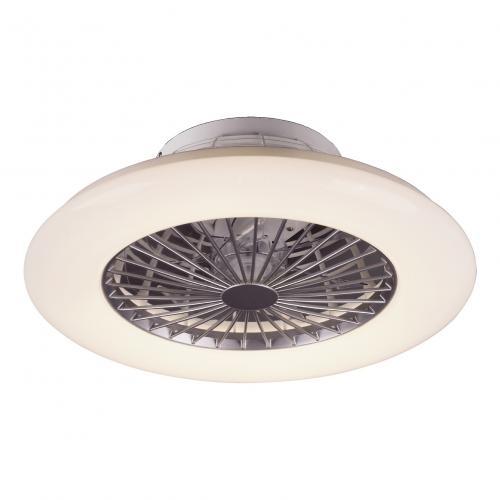 RABALUX - Таванен вентилатор с осветление и дистанционно DALFON LED 30W  3000-6500K 6859