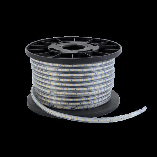 ELMARK - LED ЛЕНТА SMD5050 60БР/1M 230V/DC IP44 ТОПЛО БЯЛ 99LED388
