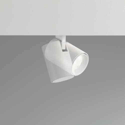 IDEAL LUX - Прожектор за модулна система OXY TRACK SINGLE 3.5W 3000K 23° UGR<19 - 248905 WHITE