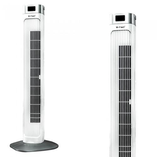 V-TAC - 55W Вентилатор Дистанционно Дисплей 36 Inch Бял SKU: 7900 VT-5536