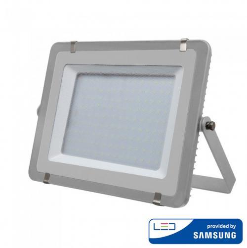 V-TAC PRO - 300W LED Прожектор SAMSUNG ЧИП SMD Сиво Тяло 4000К SKU: 488 VT-300-G, 6400K-489