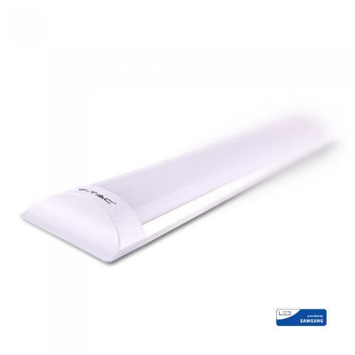 V-TAC PRO - 40W LED Линейно Тяло SAMSUNG ЧИП 120cм 4000K 120LM/WATT SKU: 666 , 3000К-665, 6400К-667 VT-8-40
