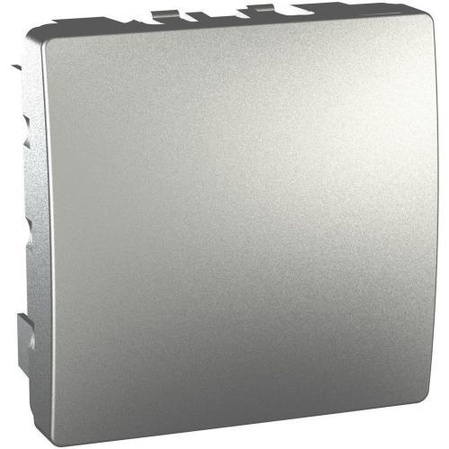 SCHNEIDER ELECTRIC - MGU9.866.30 UNICA Декоративен капак алуминий двумодулен