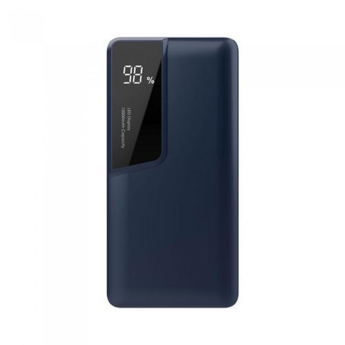V-TAC - 10000 mAh Външна Батерия Дисплей USB Тип C Синя SKU: 8872 VT-3511