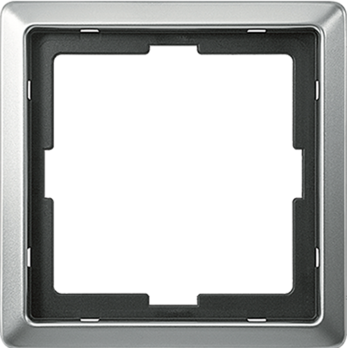 SCHNEIDER ELECTRIC - MTN481146 рамка единична неръждаема стомана Artec Merten