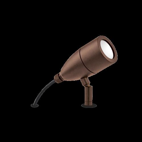 IDEAL LUX - Градински прожектор  INSIDE PT1 Coffee 247045