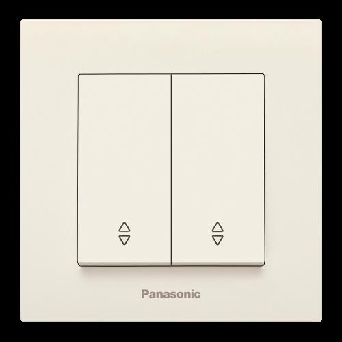 PANASONIC - Ключ двоен девиаторен Panasonic Kare крем WKTC00112BG‐EU1