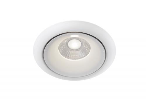 MAYTONI - LED Луна за вграждане кръгла бяла Yin DL031-2-L8W