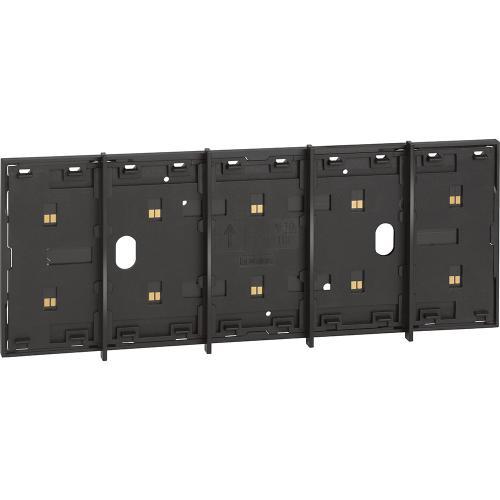 BTICINO - Електрифициран лицев панел модулен 5 мод. цвят черен Living Now Bticino KG8104P1