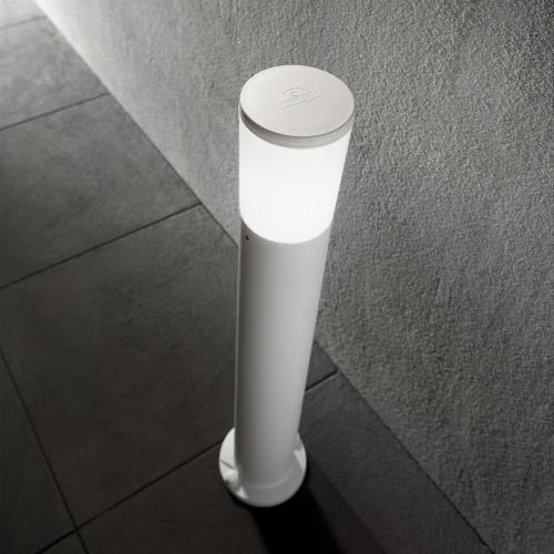 IDEAL LUX - Градински стълб AMELIA PT1 GRIGIO 198637