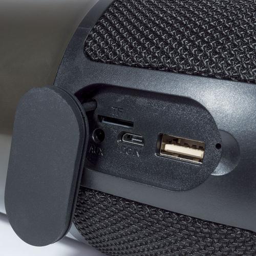 V-TAC - 2x3W LED Настолна Лампа Колона RGB USB & TF CARD слот черна SKU: 8569 VT-7456