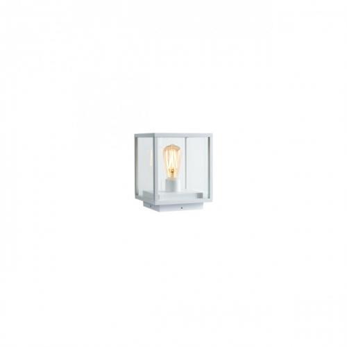 REDO GROUP - Градинско осветително тяло VITRA  9108 CD E27 1X15W IP54  WH