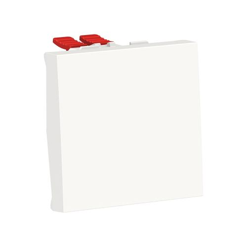 SCHNEIDER ELECTRIC - NU320118 Eднополюсен ключ сх.1 двумодолен бял New Unica