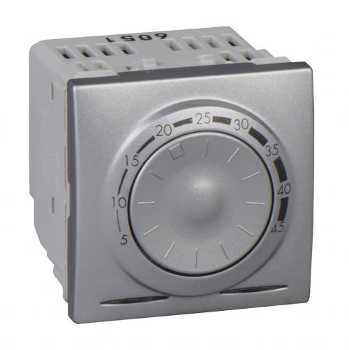 SCHNEIDER ELECTRIC - MGU3.503.30 Термостат за подово отопление Unica Top алуминий