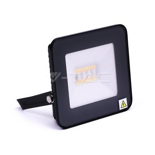 V-TAC - 20W LED Прожектор Bluetooth Черно Тяло RGB + W SKU: 5985 VT-5020