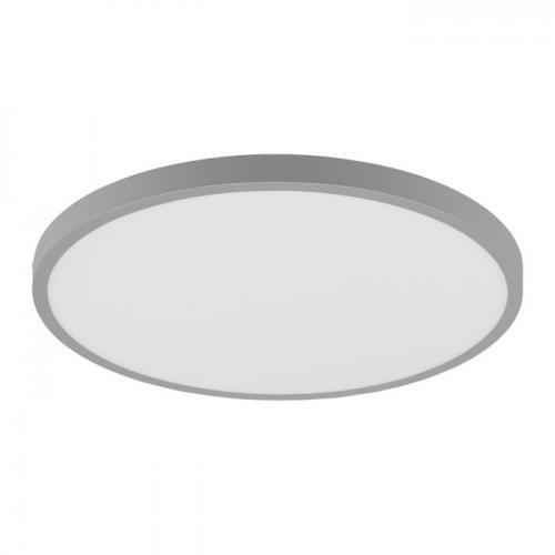 EGLO - ПЛ LED панел 25W 2500lm 3000K Ø400 сребро 'FUEVA 1 97263