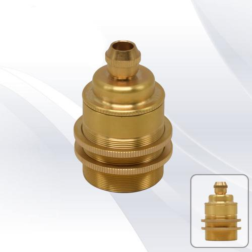 TNL - RE27R4Brs Fitting е27 metal gold 2 rings