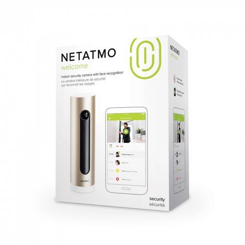 NETATMO - Вътрешна Smart камера с лицево разпознаване Netatmo Pro NSC-PRO