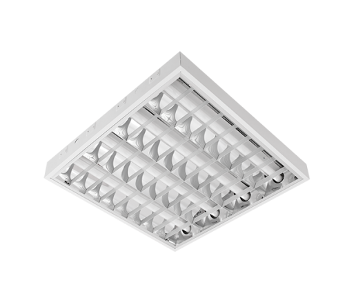 INTO - Recessed mounted luminaire fluorescent T8 4*18W OM