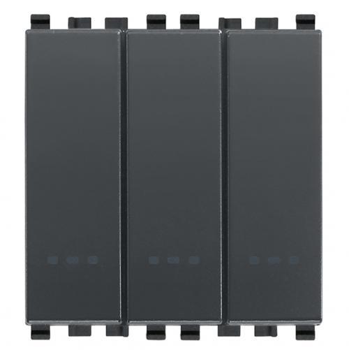 VIMAR - 20007 - Eikon триполюсен ключ 1P 20A сив