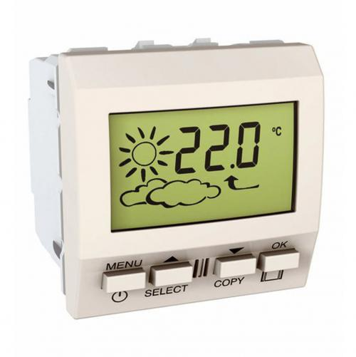 SCHNEIDER ELECTRIC - MGU3.546.25 Unica - weather station - 230 VAC - 2 m - ivory