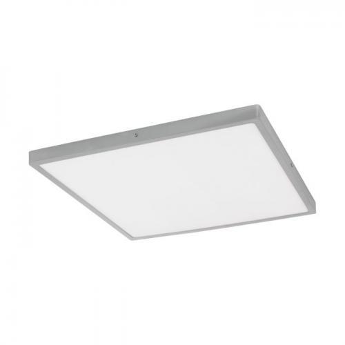 EGLO - ПЛ LED панел 27W 3200lm 3000K 600X600 димер.сребро 'FUEVA 1' 97553