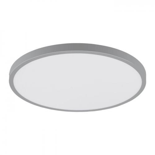EGLO - ПЛ LED панел 25W 2500lm 4000K Ø400 сребро 'FUEVA 1' 97267