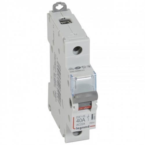 LEGRAND - Товаров прекъсвач /шалтер/ DX3-IS 40А 1P 406411