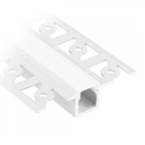 V-TAC - Алуминиев Профил за Вграждане Прав Тесен 2000мм Мат SKU: 3360 VT-8102