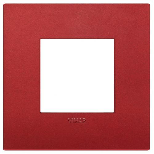 VIMAR - 19642.75 - Arke Двумодулна рамка Classic технополимер matt red