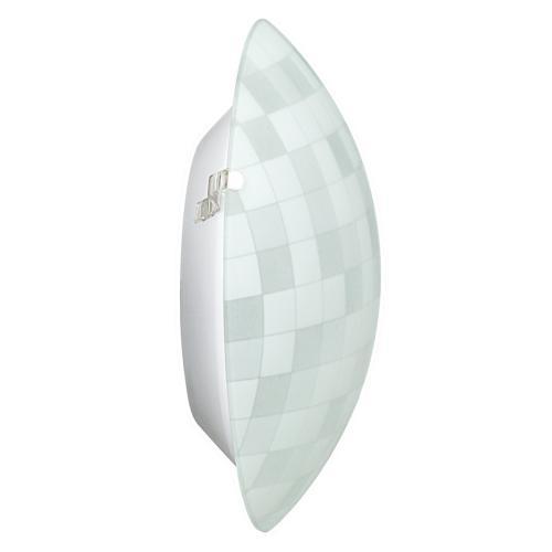ULTRALUX - GPLE14S33 Стъклена плафониера, кръг S33, Е14, 220V-240V AC, IP20