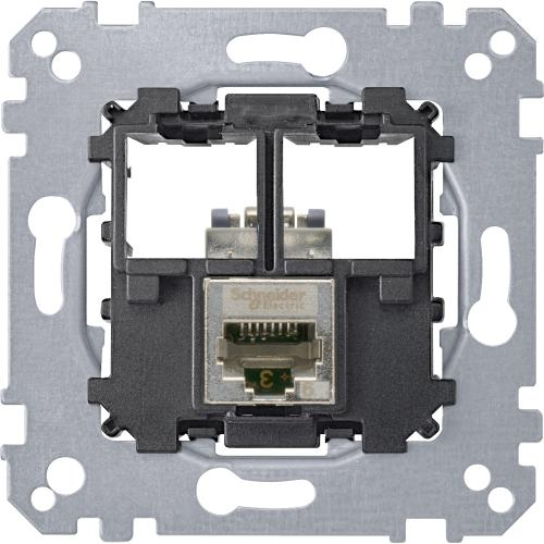 SCHNEIDER ELECTRIC - MTN4576-0021 Компютърна розетка RJ45 cat.6A STP Merten