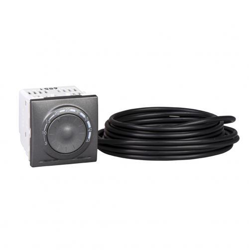 SCHNEIDER ELECTRIC - MGU3.503.12 Термостат за подово отопление Unica Top графит