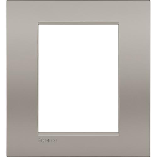 BTICINO - LNC4826SB Рамка 3+3 мод. метална Sand AIR LL Bticino