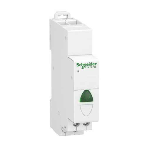 SCHNEIDER ELECTRIC - Модулен индикатор Acti 9 iIL 110…230Vac зелен A9E18321