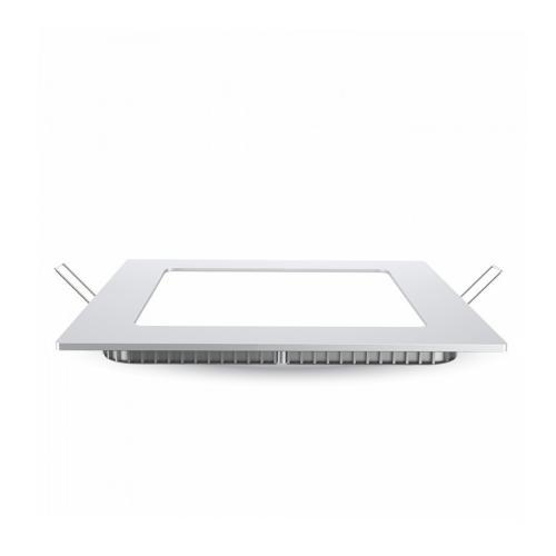 V-TAC PRO - 12W LED Панел Premium SAMSUNG Чип Квадрат 4000K SKU: 710, 3000К-709, 6400К-711 VT-612SQ